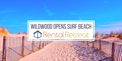 Wildwood Opens Surf Beach