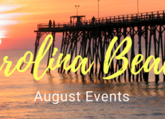 Carolina Beach August Events 2018