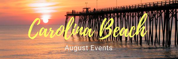 Carolina Beach August Events 2018