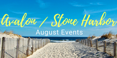 Stone Harbor / Avalon Events August 2018